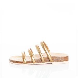 Charlotte Stone Gloria sandal, gold